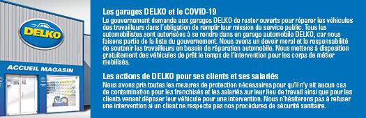 Les garages et le COVID-19