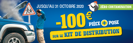 -100€ sur le kit de distribution