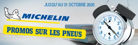 Michelin : promos sur les pneus