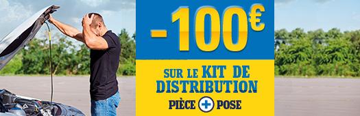 -100€ sur le kit de distribution